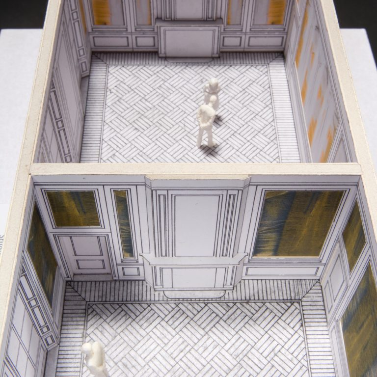 maquette stijlkamers Janskerkhof