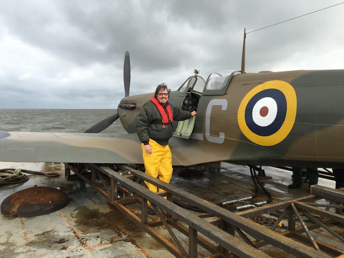 Dunkirk Film met Christopher Nolan propmaster Toon van Deijne