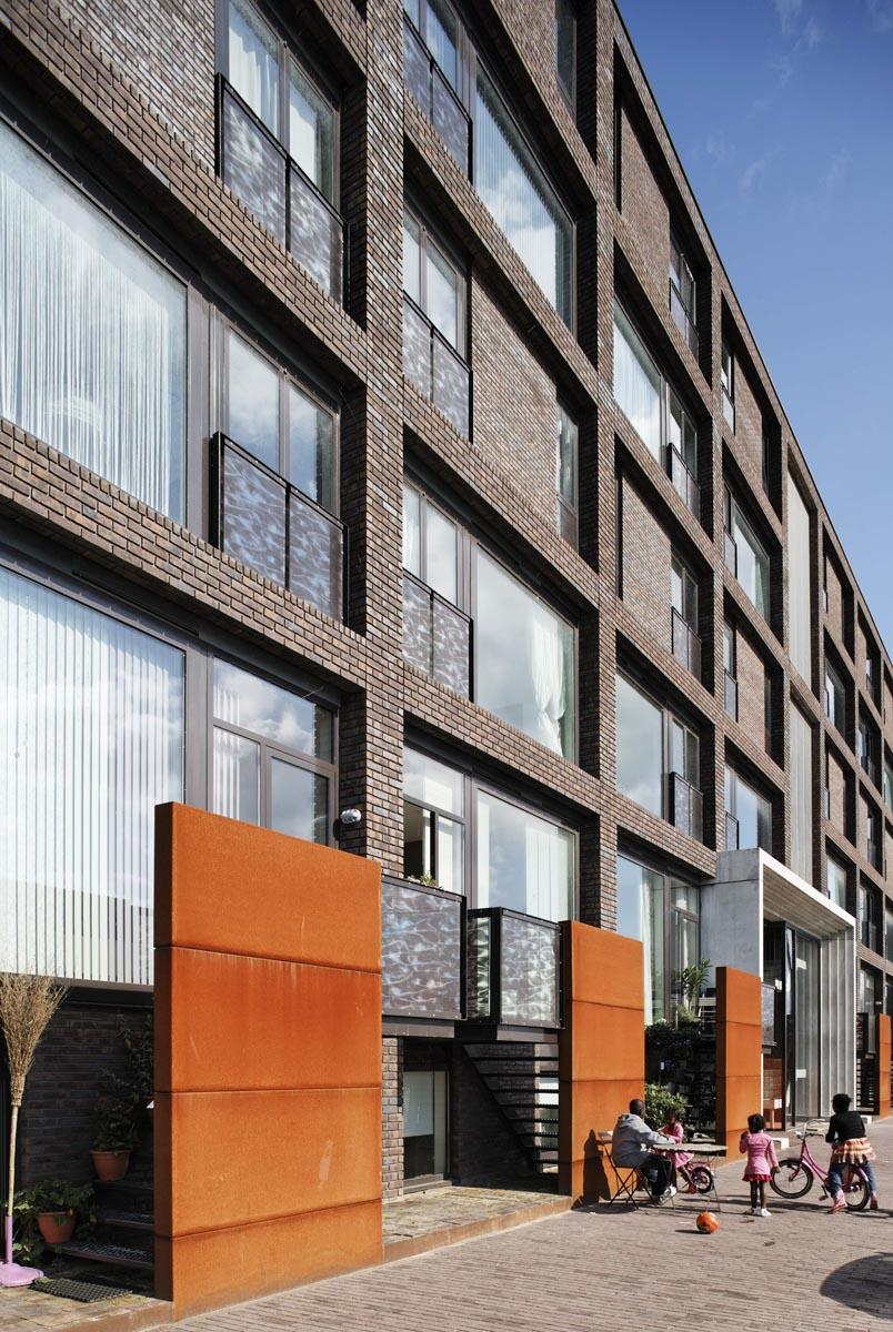 Balcons glasprint Ijburg blok 52a/b