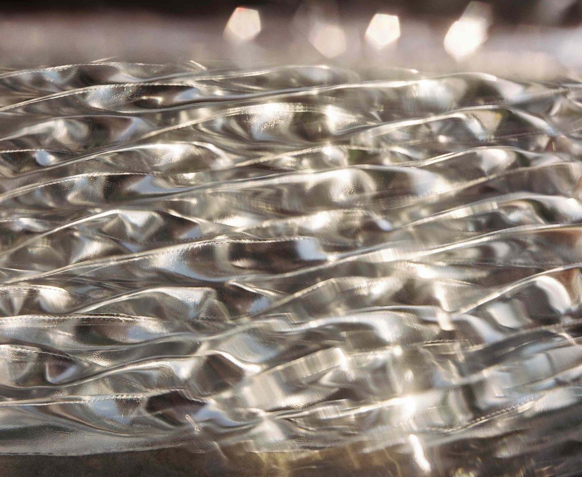 Ijburg water glasprint