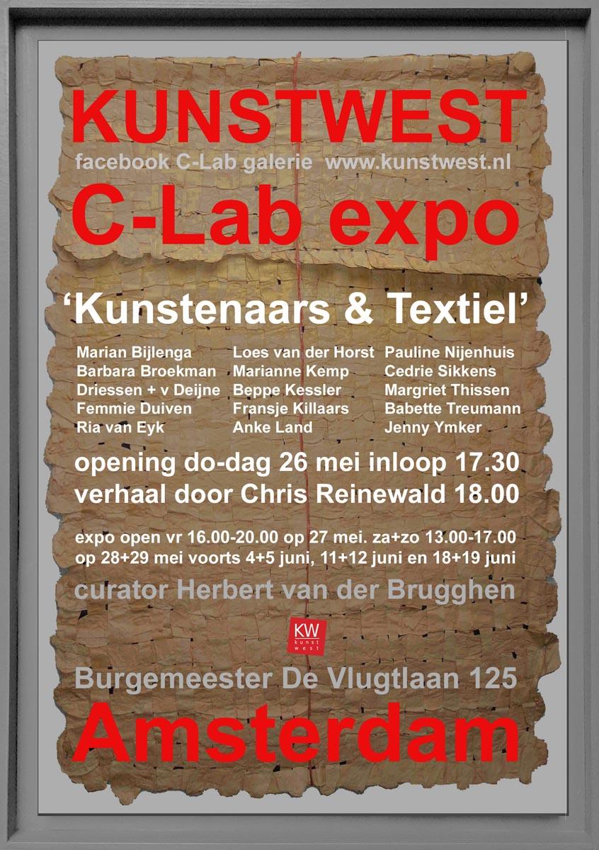 Kunstwesttextiel C-Lab driessenenvandeijne.design