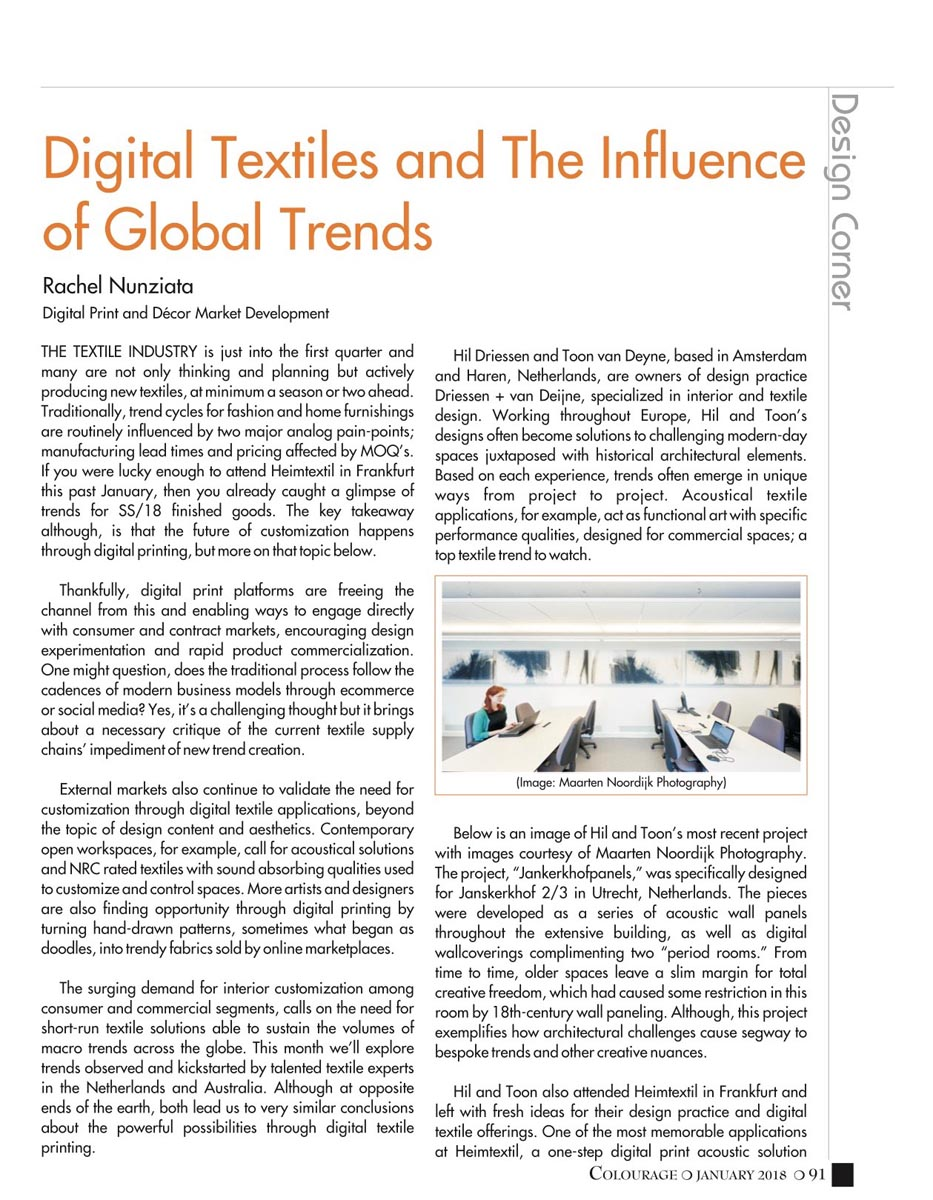 digital textiles Global Trends