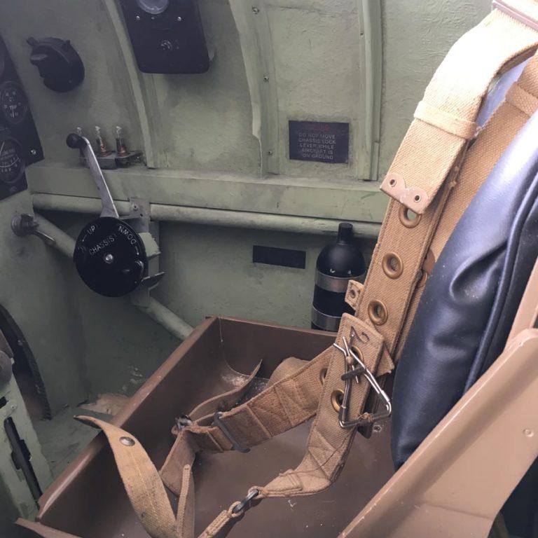 Props dunkirk vliegtuig film