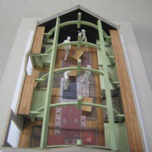 loungezolder maquette Drift 23