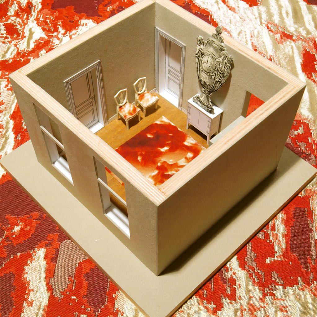 porseleinkabinet Galerie Legio maquette