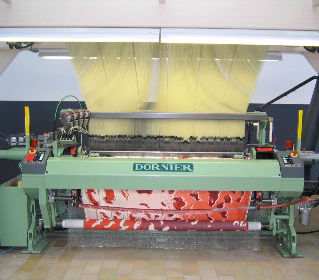 Reef TextielMuseum productie